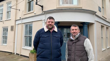 The new business called The Wenns Chop and Ale House will open on the Saturday Market Place in King'