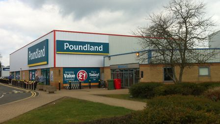 A new Poundland megastore opened in King's Lynn on Saturday: Picture David Bale