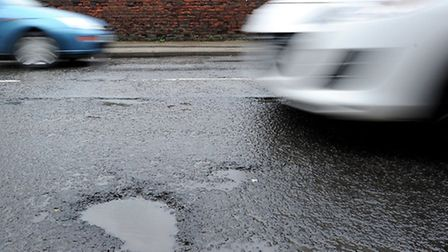 Norfolk County Council is highlighting its fight against potholes.