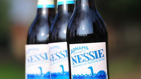 Adnams' new Beer 'Nessie' to celebrate the sighting of the legendary Loch Ness Monster.
