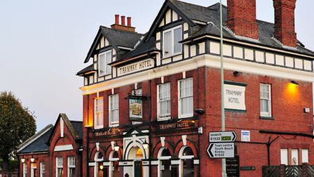 The Tramway Hotel on London Road, Pakefield
