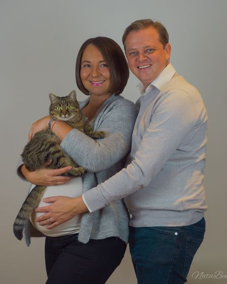 Ben and Natalie Farrin from Norwich
