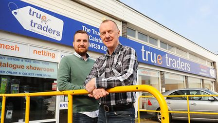 True Traders, run by father and son Michael and Tom Bezance, put job advert for warehouse/customer s