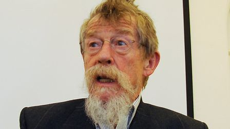 John Hurt, who is playing old Dante in a BBC Radio drama The Divine Comedy. Picture: Denise Bradley