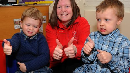 St Edmund's Pre-School in Hoxne have been given Makaton friendly status after one of the children at