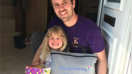 Newmarket-based community interest company Sharing Parenting has benefited from the support from Suf