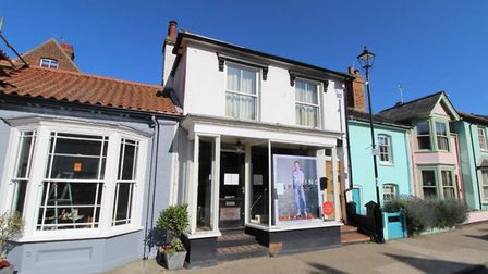 The former Jack Wills site in Aldeburgh Picture: CLARKE AND SIMPSON