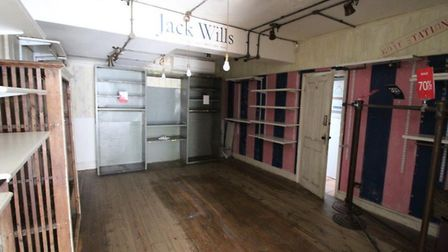 The site still bears the old Jack Wills branding Picture: CLARKE AND SIMPSON