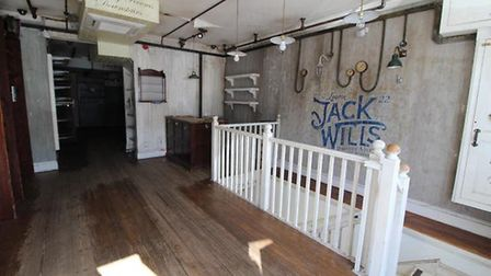The former Jack Wills site closed in Aldeburgh in July Picture: CLARKE AND SIMPSON