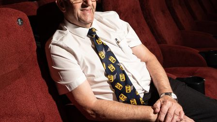 Pat Church has been working at the cinema for 55 years and he wants the Abbeygate to survive the pan