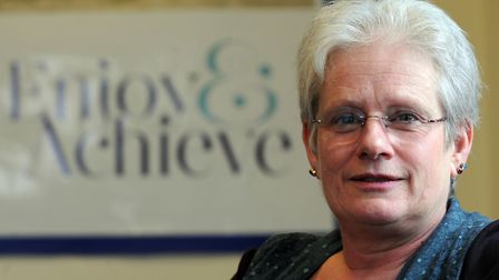 Jane Gould, Babergh District Council for Orwell Ward.  Photo: SU ANDERSON