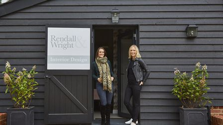 Lindsey Rendall, left, pictured alongside Helen Wright. The two run Rendall & Wright, a Suffolk-base