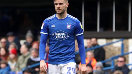 Luke Garbutt, who played 30 games for Ipswich last season, but is set to feature against Town in Bla