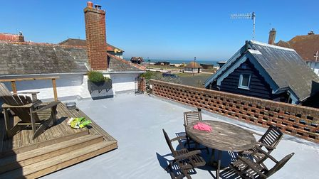 The property comes with a rooftop terrace Picture: BEANE, WASS AND BOX