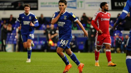 Armando Dobra has been linked with a loan move to Crawley Town Picture: STEVE WALLER