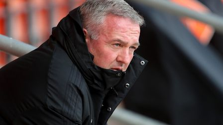 Ipswich Town manager Paul Lambert, pictured during Saturday's 4-1 win a Blackpool. Photo: PA