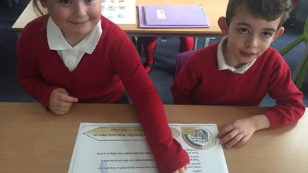 St Gregory CEVC Primary School in Sudbury is holding a 'Harvest of Hope' in a bid to spread a bit of