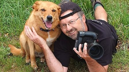 Nigel Wallace, who has been working as a dog photographer for the past 18 months Picture: Nigel Wall