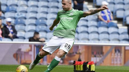 Anthony Stokes, pictured during his time at Hibernian. Photo: PA