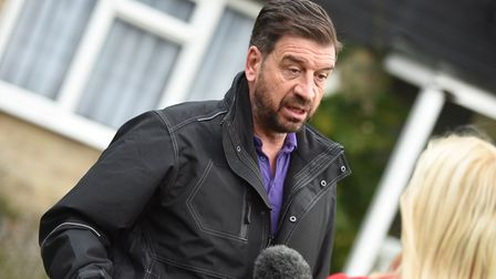 Nick Knowles and the DIY SOS team visited the Dobbin's house in 2017 Picture: ARCHANT