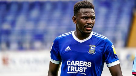 Toto Nsiala has been superb for Town so far this season but made mistakes at Doncaster. Photo: STEV