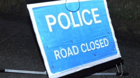 St Osyth Road is closed this morning at Little Clacton Picture: ARCHANT