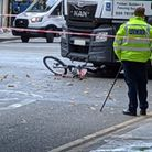 The crash happened at the junction of Cambridge Heath Road and Hackney Road. Picture: Kevin Collins
