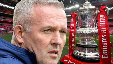 Paul Lambert's Ipswich Town will host Portsmouth in the FA Cup first round. Picture: ARCHANT/PA
