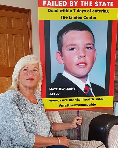 Melanie has endured an eight-year fight for answers over her son's death Picture: MELANIE LEAHY