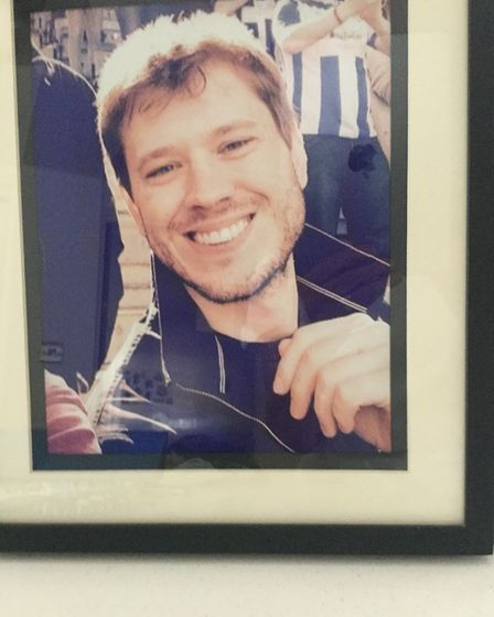 Richard was just 30 when he died at the Linden Centre, Chelmsford Picture: SUPPLIED BY FAMILY