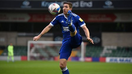 Stephen Ward was back in the side at Lincoln City. Picture PAGEPIX LTD