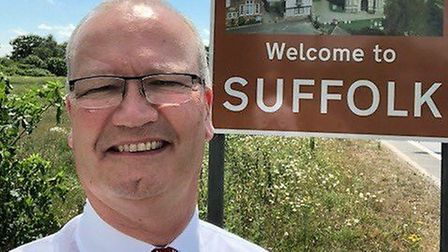 Suffolk County Council leader Matthew Hicks said the fund had already helped hundreds of families. Picture: SUFFOLK...