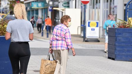 Covid-19 cases are on the rise across Suffolk Picture: CHARLOTTE BOND