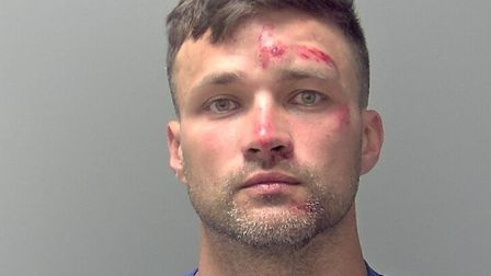 Gary Chinn has been jailed for six months after hitting a man with a hammer in an unprovoked attack