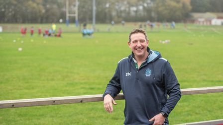 Tim Johnson, Chairman of the Woodbridge Rugby Club Committee. Picture: SARAH LUCY BROWN