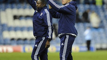Mick McCarthy will have long-time assistant Terry Connor with him in Cyprus Picture: PAGEPIX LTD