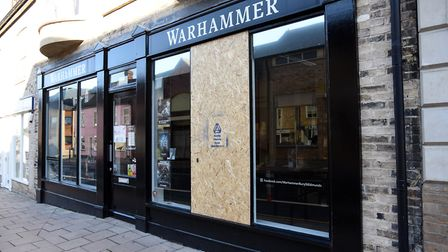 A 16-year-old has been arrested after the Warhammer shop in Bury St Edmunds was broken into. Picture