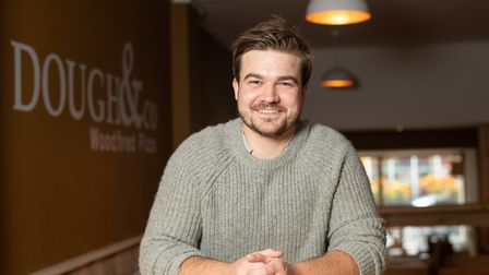 Chris Sharman, owner of the new restaurant in Halstead, Dough & Co Picture: SARAH LUCY BROWN