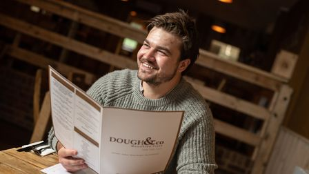 Chris Sharman , owner of the new restaurant in Halstead, Dough & co Picture: SARAH LUCY BROWN