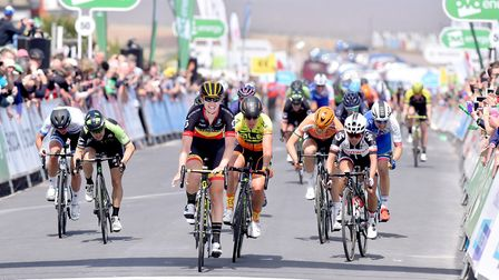 The Women's Tour is set to return to Suffolk in 2021 Picture: NICK BUTCHER