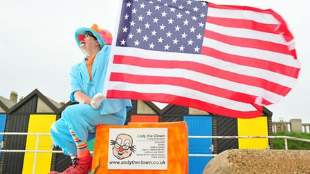 Lowestoft's Andy the Clown is off to amercia to organise a major clown conference.