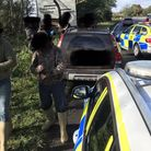 Five men were arrested on suspicion of illegal hunting offences Picture: SUFFOLK RURAL AND WILDLIFE