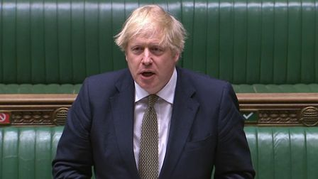 Prime Minister Boris Johnson announced a new three-tier system on Monday Picture: HOUSE OF COMMONS/P