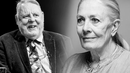 Terry Waite and Vanessa Redgrave will be taking part in a fundraising event for the Theatre Royal Bu