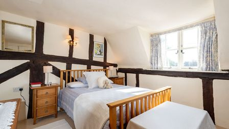 This three-bedroom, Grade II listed cottage in Chelsworth is for sale at a guide price of ?750,000. Picture: Chapman Stickels