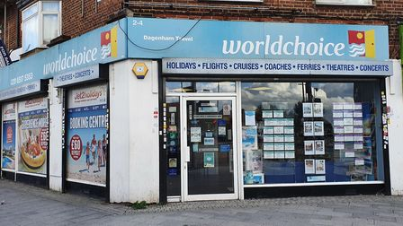 Visit the Dagenham Travel team at 2-4 Reede Road, on the corner Heathway. Picture: Andrew Brookes