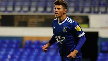 Ross Crane scored for the Ipswich Town U23 side in their 3-1 win over Sheffield Wednesday this after