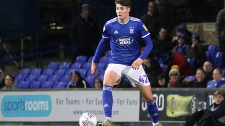 Brett McGavin netted for the Town U23s Picture: ROSS HALLS