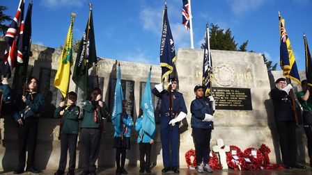 The town hall has announced plans to mark Remembrance Day 2020. Pictured here is a previous Royal Br