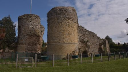 Bigod's Castle in Bungay is said to be the home of Black Shuck. Byline: Sonya Duncan (C) Archant 2020
